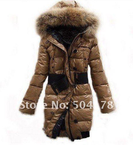 Fashionable down coats ladies