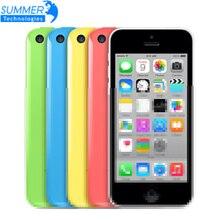 Оригинальный Apple iPhone 5c Используется Разблокирована Мобильного Телефона 4 «сетчатка IPS Используется Телефон 8MP 1080 P GPS IOS iPhone5c Сотовых Телефонов