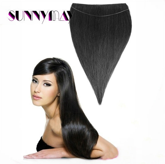 7a Quality 18in 26in Popular New Style Flip Weft In Hair Extension