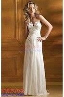 на заказ высокое качество зубчатый Glamour и невероятных формальным радуют лист без рукавов рюшами повар выпускные платье