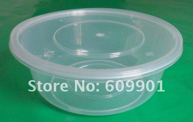 625ml Disposable Microwave Plastic Food Container Bowl With Lid Jpg