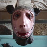 HOT di Alta Qualità Monkey King Horror In Lattice di Gomma Piena Maschere Per Halloween Mascherina Del Partito di Cosplay Animal Wukong Halloween Maschera di Scimmia