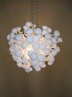 עיצוב הבית בעבודת יד זכוכית מנופחת מתכוונן נברשת מנורה