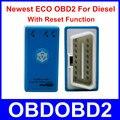 Mais nova Geração ECO OBD2 Azul Para Diesel Com Função de Reset ECOOBD2 Caixa de Chip Tuning carro Mais Power & Torque Do Que Nitro OBD2