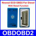 Newest Generation ECO OBD2 Blue For Diesel With Reset Function ECOOBD2 Car Chip Tuning Box More Power & Torque Than Nitro OBD2