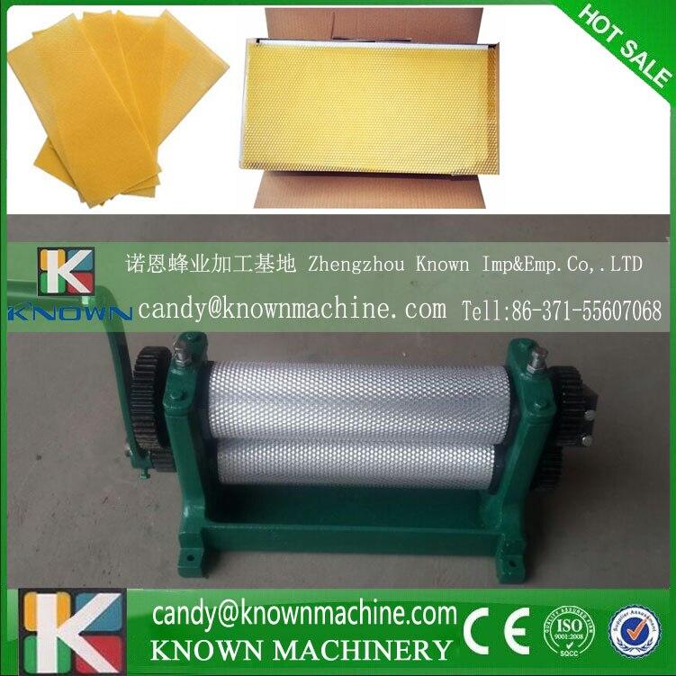 86*310mm Higher quality with door to door price Manual Bee Wax Foundation Sheet Mills Machine 86 250mm competitive price bees wax foundation machine