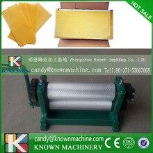 86*310 мм Высокое качество с двери до двери цена по DHL Руководство Пчелиный Воск Основой Лист Мельницы Машина