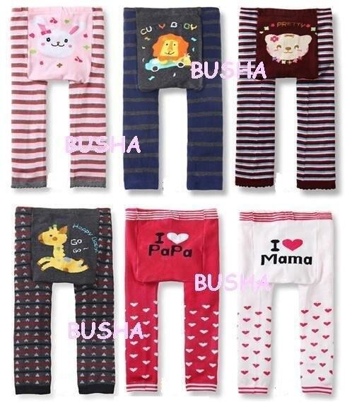 Детские штаны; ; Детские Большие Штаны с рисунком; теплые детские колготки; 36 шт