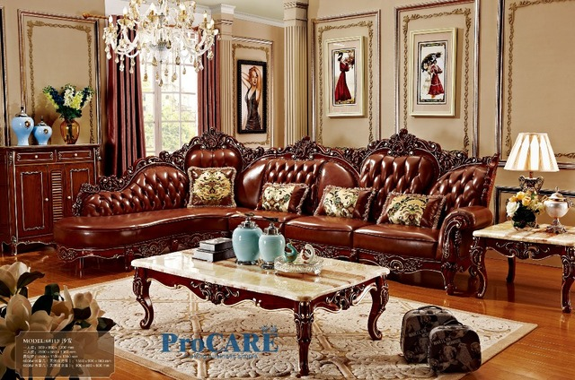 red solid wood genuine leather corner sofa set l shape sofa set living room furniture with. Black Bedroom Furniture Sets. Home Design Ideas