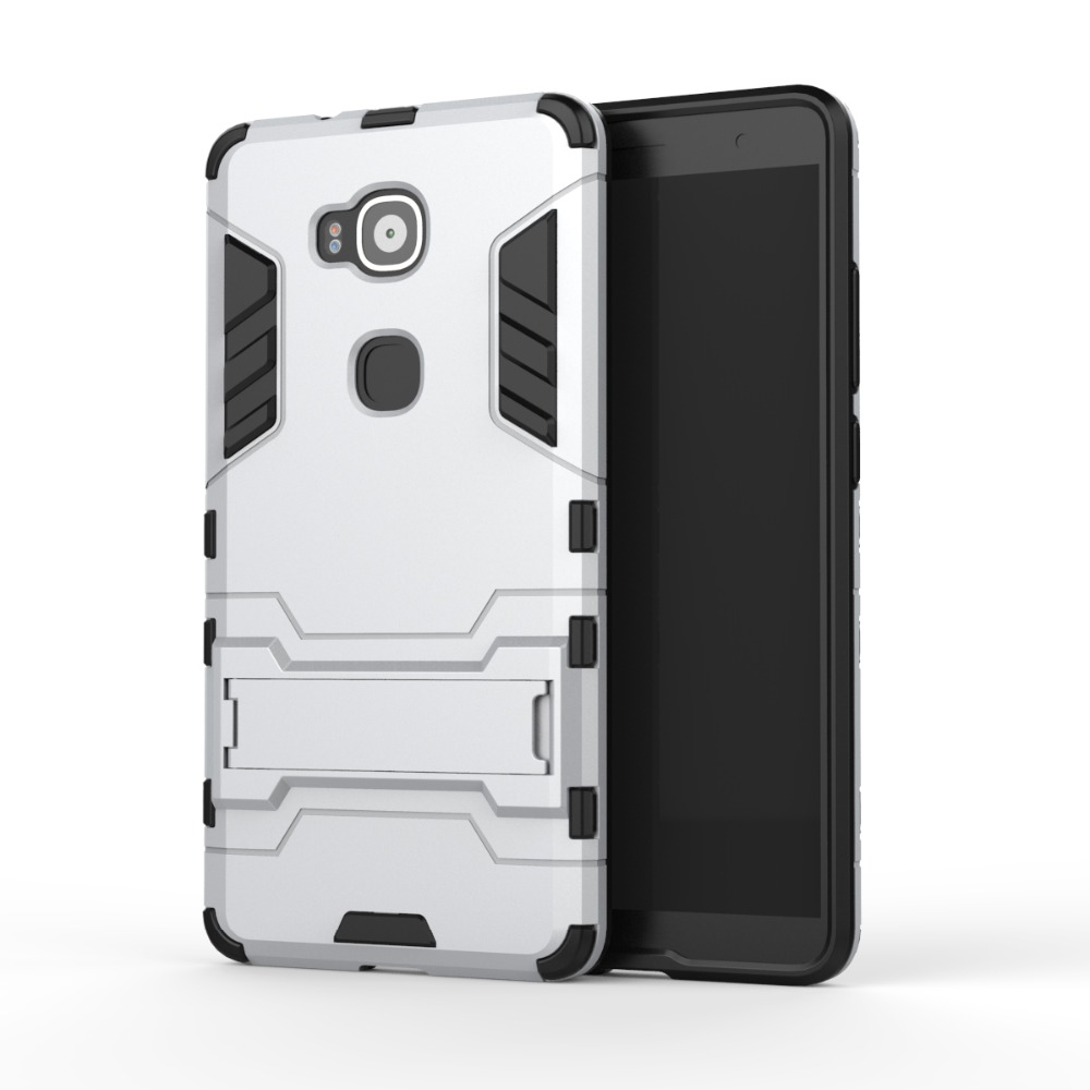 Fashion Cool 2 In 1 PC TPU Hard Stand Holder Cover Case For Huawei Ascend G7