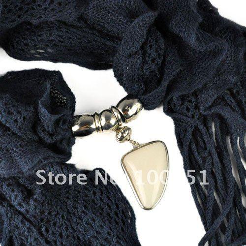 New design!women winter warm waved shaped pendant jewelry scarf  NL-1932 (2).jpg