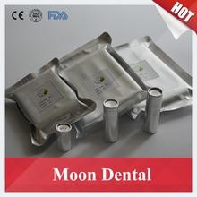 50 Peças/lote Resina Dental Cartuchos Cheios com K2 K2 Próteses Parciais Valplast Flexível Material de Resina para Flexível