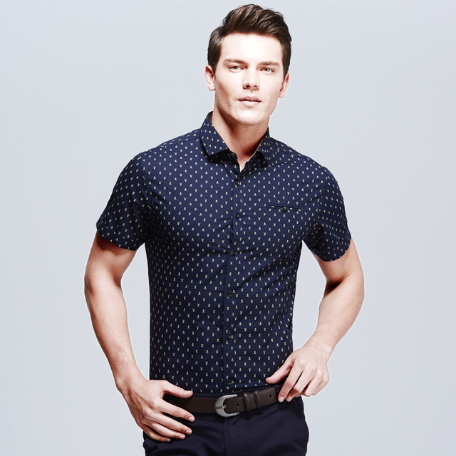 Buy 2016 new design men m 5xl casual for Where to buy casual dress shirts