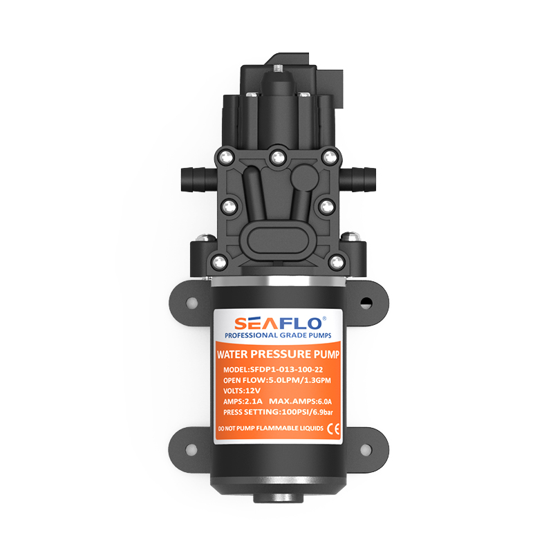 Marine & RV Equipment Diaphragm Water Pump for Boats 100PSI 12 V 6A Max