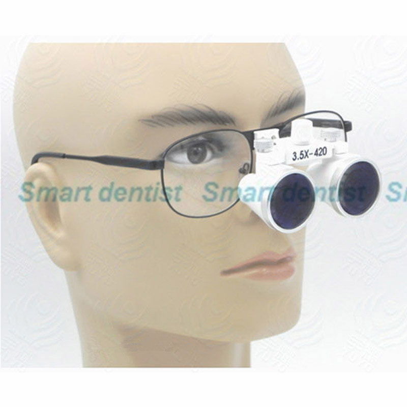 3.5X Magnification 420mm Working Distance Amplification Dental Cure Loupe Medical Surgical Therapy Magnifier