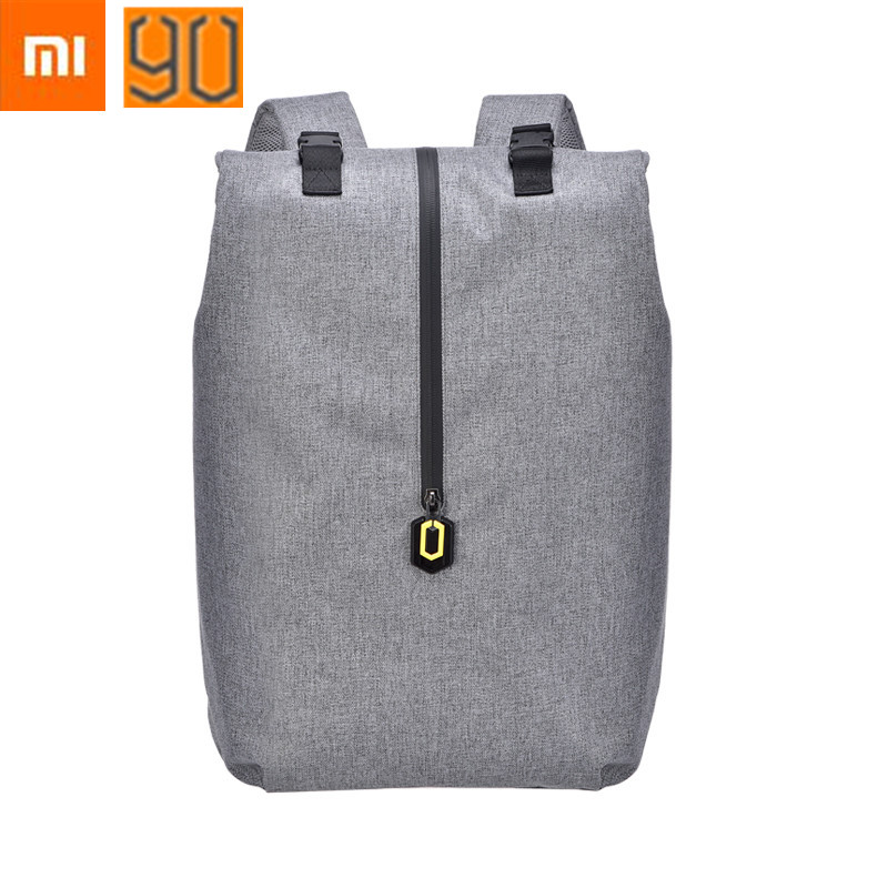 ФОТО 2017 Newest Xiaomi Leisure Backpacks Large Capacity Student Bag Men Women Travel Laptop Backpack for14 inches of computer