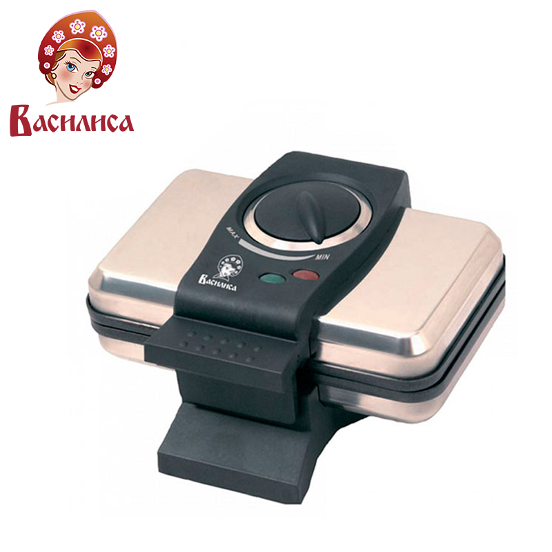 VASILISA V4-1000 Waffle maker cake muffin machine non-stick electric cooking baking pan dessert waffeleisen home appliance jiqi household electric baking pan sided heating cake machine scones machine grilled machine