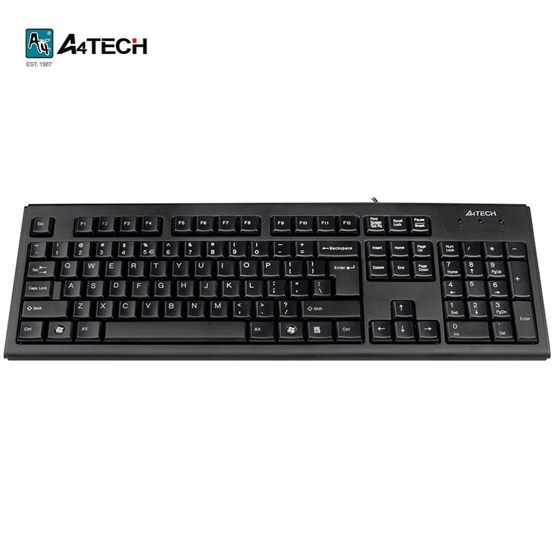 Keyboard A4Tech KR-83 Officeacc a4tech kr 750 smart black usb