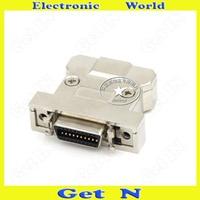 2 adet MC20FL-A SCSI Konektörü Demir Kabuk HPCN20 Pin Kaynak Dişi Uç Fiş Entegre Adaptörü