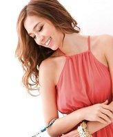 бесплатная доставка новое поступление мода дамы платье с лямкой на шее / лето длинное платье / тонкий длинное платье