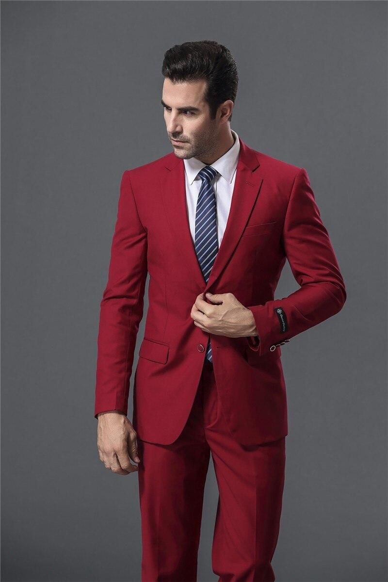 red and blue suit suit la