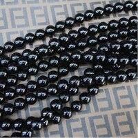 200 шт./лот, природа черный оникс, черный агат бусины, качество +, широкий полудрагоценных камней бусины своими руками ювелирные изделия бусины, размер : 10 мм
