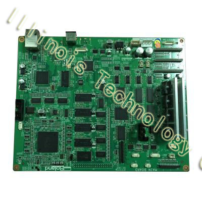 Original Roland RE-640 Main Board printer parts permanent roland xj 640 xj 740 eco solvent chips 6pcs set cmyklclm printer parts