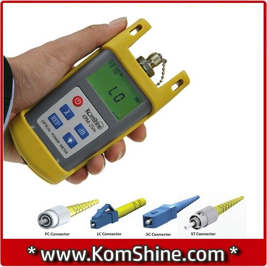komshine kpm 25 opm optical power meter with sc upc