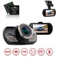 Оригинальный dab201 Ambarella A12 Автомобильный видеорегистратор Камера видео Регистраторы HD 1440 P с GPS регистраторы видео Регистраторы приборной па