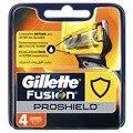 Replaceable Razor Blades for Men Gillette Fusion ProShield Blade shaving 4 pcs Cassettes Shaving  Fusion shaving cartridge