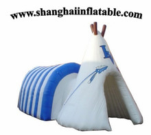 good seller lasted design cute inflatable air tent camping shelter sun shelter for family holiday use inflatable tent