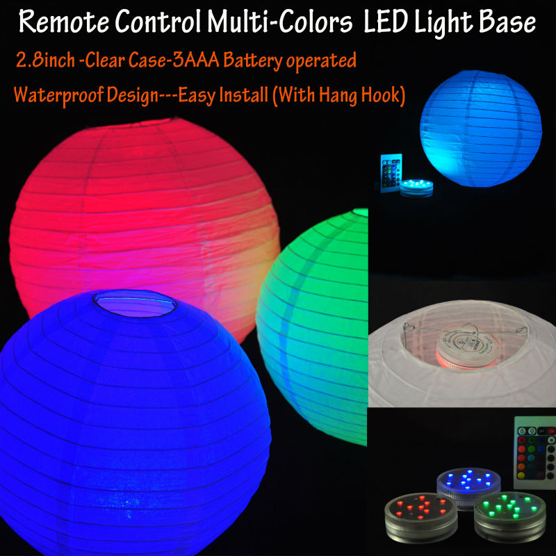 Remote controlled Paper Lantern Light