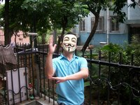 один размер для всех в значит вендетта команда GA Fox маскарадные маски оптовая продажа