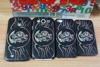 горячая распродажа твердый переплет кожа чехол для iPhone 4 и 4S на друзья чехол для iPhone 5 С 5 г 10 шт./лот бесплатная доставка