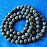 100 шт./лот, природа Канады круглый мяч, широкий полудрагоценных камней и аксессуары, размер : 8 мм, бесплатная доставка