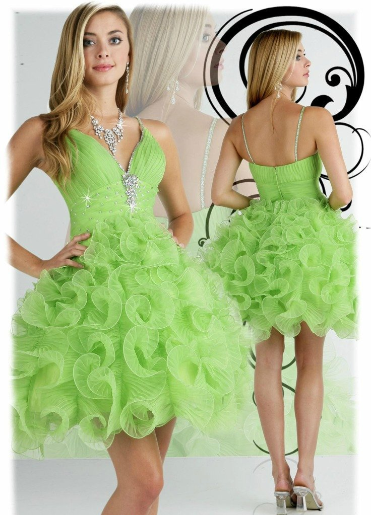 Cocktail dress lime green – Dress online uk