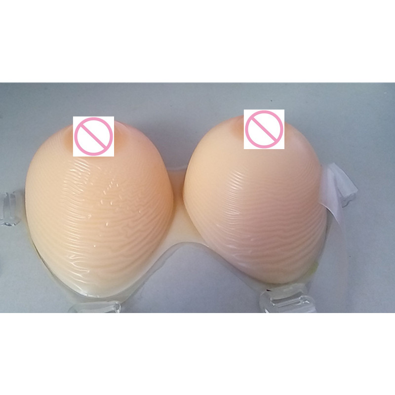2000g/piece H/I Cup Realistic silicone breast forms Fake Boobs Prosthesis Silicone With Nipple for Drag Queen Breasts Increase