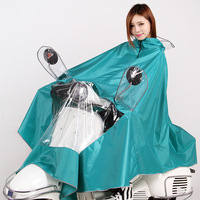 Fashion Motorcycle Electric Vehicles Women Raincoat Colorful Poncho Impermeable Rain Coat Rain Cape