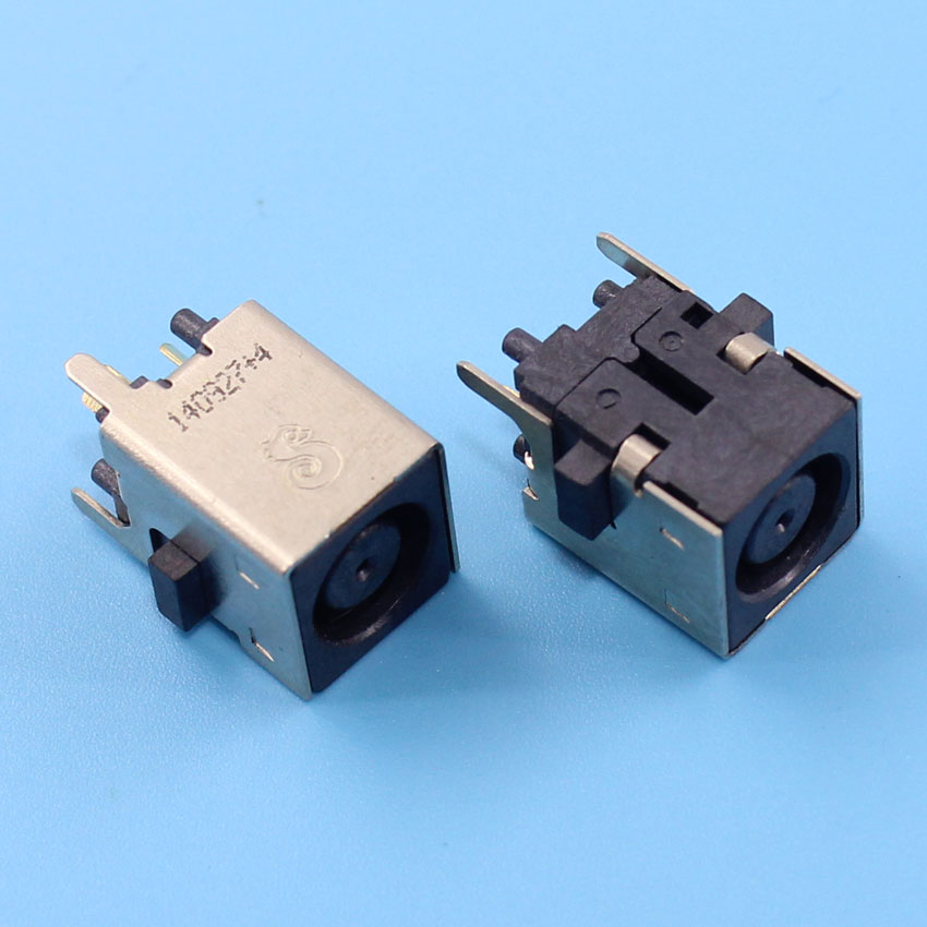 New 2pcs/lot New DC Power Jack Socket Connector for Dell Inspiron ONE 2205 2305 2320 vostro 3010 360 7.4x5.0mm