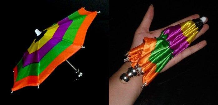 Super Mini parapluie magique, 21 cm (3 couleurs disponibles) tour de magie accessoire de scène accessoire accessoire apparaissant jouets classiques drôles - 3