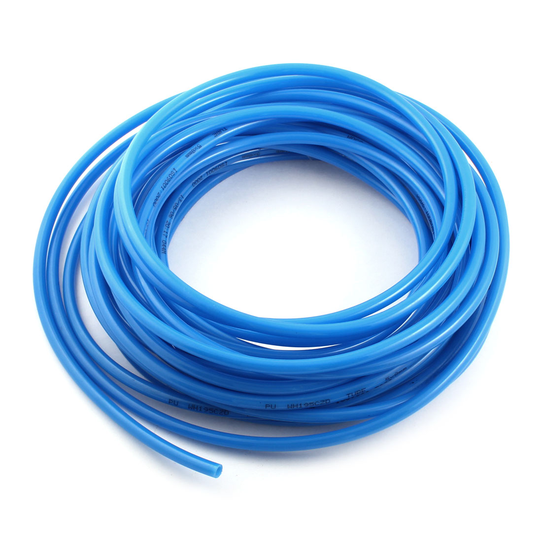 ФОТО UXCELL Product Keywords 15 Meter 50Ft Blue Polyurethane Pu Air Tubing Hose Pipe 8Mmx5mm
