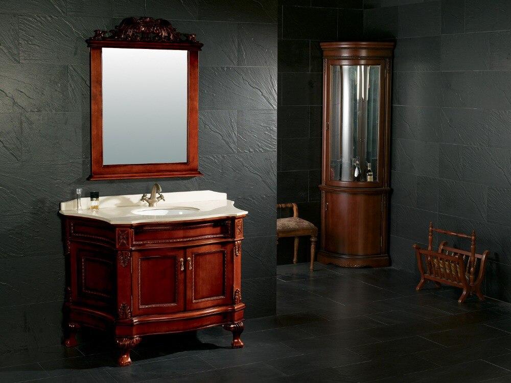 Solid wood bathroom furniture vanities cabinet 0281 8061 - Unfinished wood bathroom vanities ...