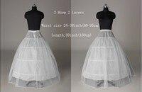 бесплатная доставка белый 3 обручи 1 слоя люкс юбке свадебные аксессуары