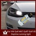 Guang Dian livre de Erros Luz de Circulação Diurna DRL para VW Golf MK7 Golf7 Golf VII (2013-up com xenon farol apenas) PW24W 5730