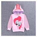 Baby Girl Spring Jacket Children Cartoon Pony Outerwear Kids Hoody Girls Coats and Jackets Toddler Casual Sweatershirt Clothes