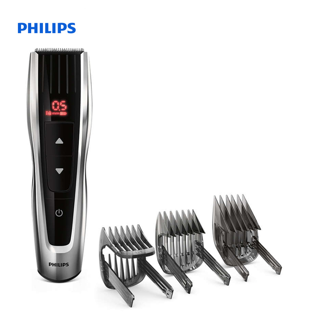 Philips Hairclipper series 7000 hair clipper with Motorized Combs Stainless steel blades 60 length settings HC7460/15