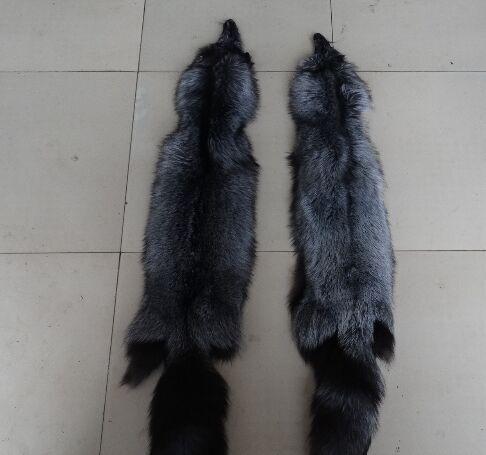 Peau de fourrure de renard brut/peaux de fourrure de renard