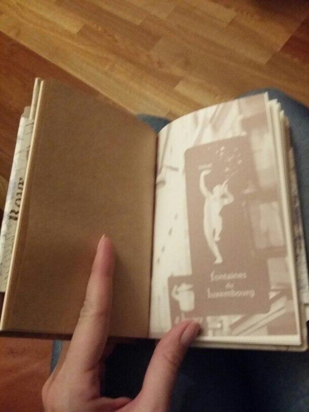 странички раньше были красивее. Сейчас на листе просто вставлена картинка.