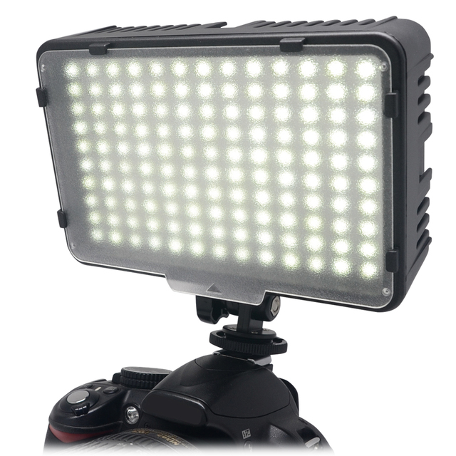 Ledgo 126 Led Microphone Mounted Ring Light For Dslr Video: Mcoplus 130 LED Video Photography Light Lighting For Canon
