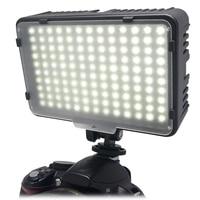 Mcoplus 130 led video fotografie licht verlichting voor canon nikon sony panasonic olympus pentax & dv camera comcorder vs cn-126